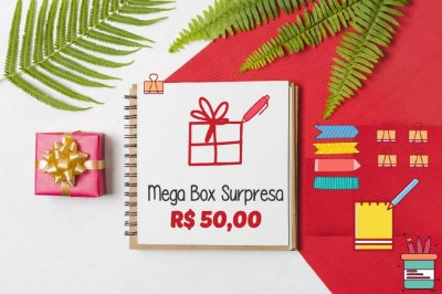 Mega Box Surpresa - R$50,00 Megapapel