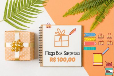 Mega Box Surpresa - R$100,00 Megapapel