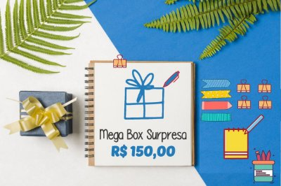 Mega Box Surpresa - R$150,00 Megapapel