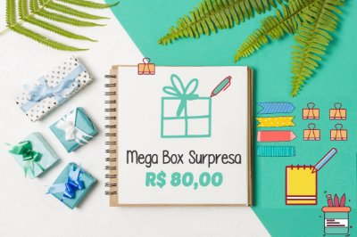 Mega Box Surpresa - R$80,00 Megapapel