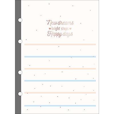 Refil Tiliflex para Caderno Argolado - Colegial Soho 80 Folhas