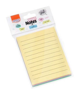 Bloco Smart Notes 76 x 102 mm Pastel Pautado 50 folhas