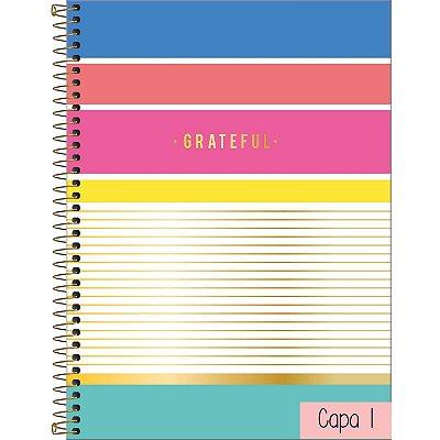 Caderno Universitário 1 Matéria Tilibra Be Nice 80 Folhas