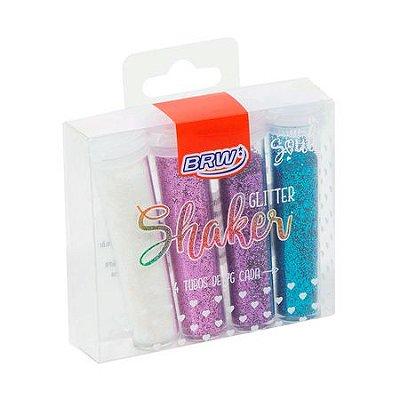 Gliter Shaker Brw Colors 7g 4 Tubos
