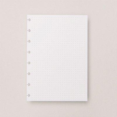 Refil Caderno Inteligente - Pontilhado A5