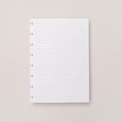 Refil Caderno Inteligente - Pautado A5