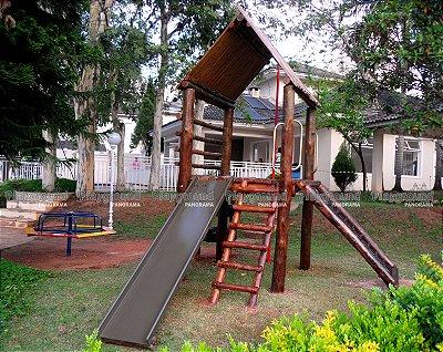 Playground ecológico Casinha do Tarzan / Condomínio Vizzon Ville