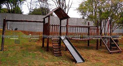 Playground Centro de atividades Plus / Instalado em chácara no Parque Monte Bianco em Araçoiaba da Serra