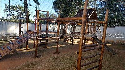 Playground Aldeota Completo com Torre de Pneus PORTAL DAS ARAUCÁRIAS – COTIA - SP