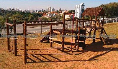 Playground Aldeota Completo com Torre de pneus