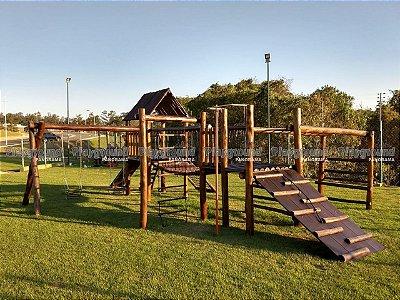 Playground ecológico completo modelo Aldeota  | Condomínio Saint Patrick