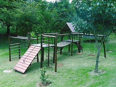 Playground ecológico completo modelo Aldeota  | Condomínio Millenniun