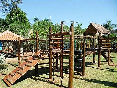 Playground ecológico completo modelo Aldeota  | Residencial Alvorada