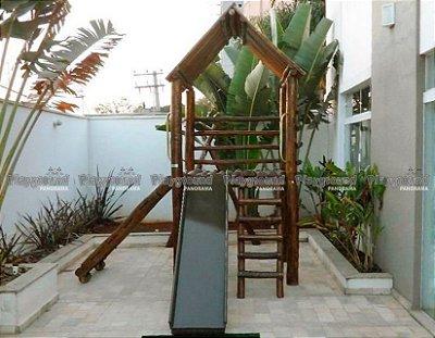 Casinha do Tarzan em eucalipto tratado |Condomínio Residencial Garden Hill