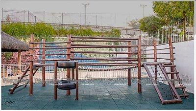 Playground Centro de atividades master em eucalipto tratado |  Colégio Salesiano