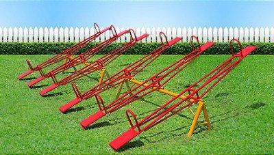 Brinquedo para playground modelo gangorra