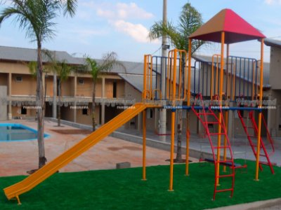 Playground infantil modelo multiplay