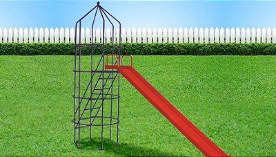 Brinquedo para playground modelo foguetinho espacial