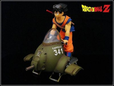 Son Goku - Air Bike -Capsule 341 -Dragon Ball Z -  Ichiban Kuji - Banpresto