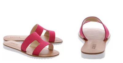 Flat Game On Rose Pink Schutz