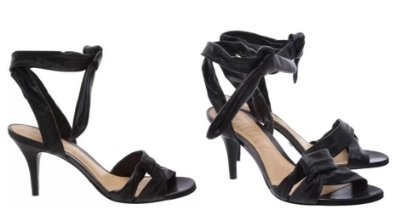 SANDÁLIA MIKA MEDIUM HEEL BLACK