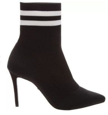 GISELA SOCK BOOTIES BLACK