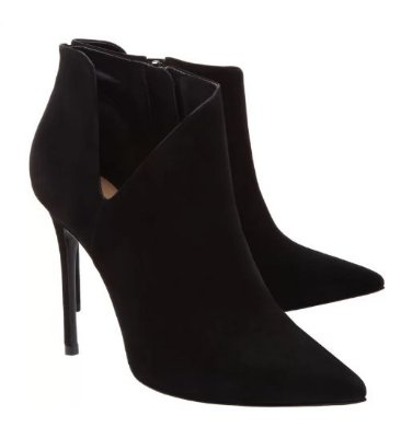 ANKLE BOOT CUT OUT BLACK