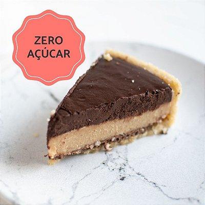 Torta Sonho de Valsa Zero Açúcar Fatia