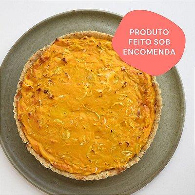 Quiche de Alho Poró com Queijo de Caju G (1,3kg)
