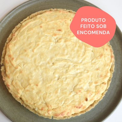 "Quiche de Palmito com ""Cream Cheese"" G (1,3kg)"