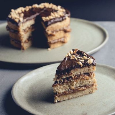 Bolo Snickers (Caramelo e Amendoim) P (1kg)
