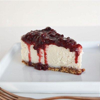 Cheesecake de Frutas Vermelhas Zero Açúcar Fatia (130g)
