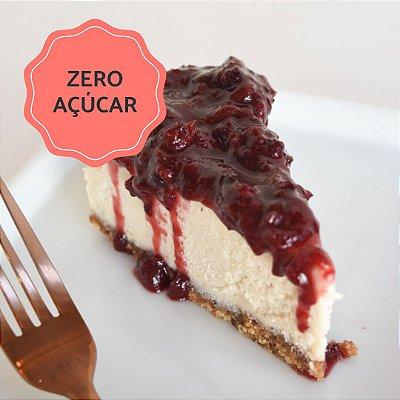 Cheesecake de Frutas Vermelhas Zero Açúcar Fatia (130g) ⭐⭐⭐⭐⭐