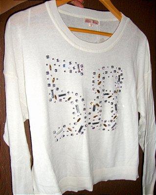 Blusa de Lã Off-white