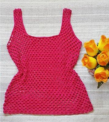 Blusa de Croche Pink