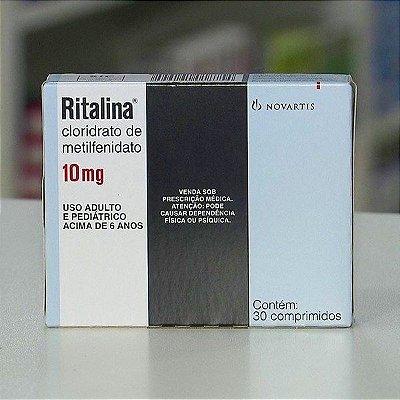 Ritalina 10mg 60 comprimidos