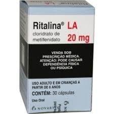 Ritalina LA 20mg 30 comprimidos