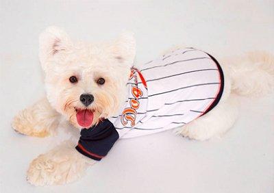 Camiseta Dog Style branca