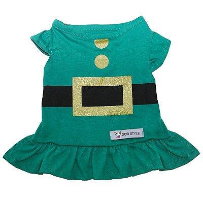 Vestido Natal Verde