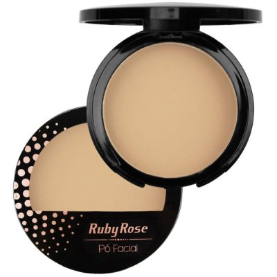 Pó Compacto Facial Ruby Rose Cor 04