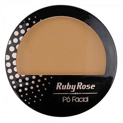 PÓ COMPACTO FACIAL RUBY ROSE COR 16