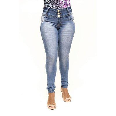 Calça Jeans Clara Feminina Legging Credencial Levanta Bumbum