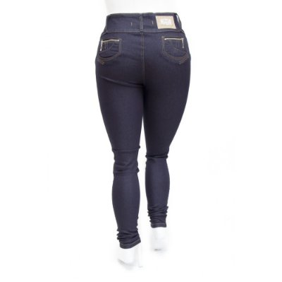 Calça Feminina Jeans Plus Size Credencial Escura