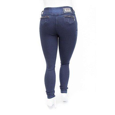 Calça Jeans Plus Size Feminina Escura Thomix com Elástico