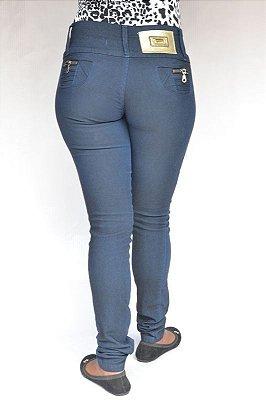 Calça Jeans Legging Credencial Azul com Elastano