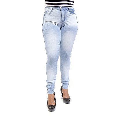 Calça Jeans Feminina Clara Hot Pants Thomix Levanta Bumbum