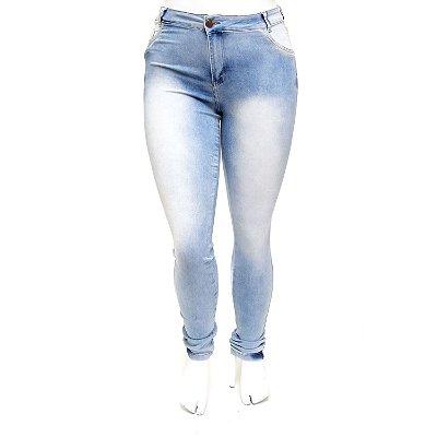 Calça Jeans Plus Size Feminina Clara Helix Hot Pants