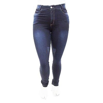 Calça Jeans Plus Size Feminina Hot Pants Thomix com Lycra