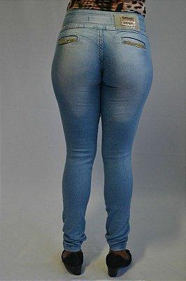 Calça Jeans Legging Clara Bel Belita com Strass
