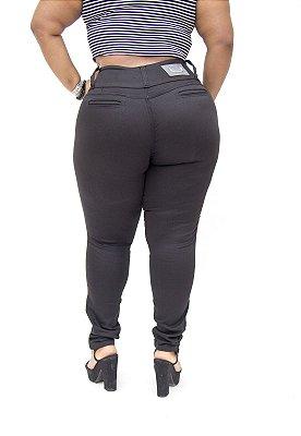 Calça Jeans Credencial Plus Size Skinny Dione Preta